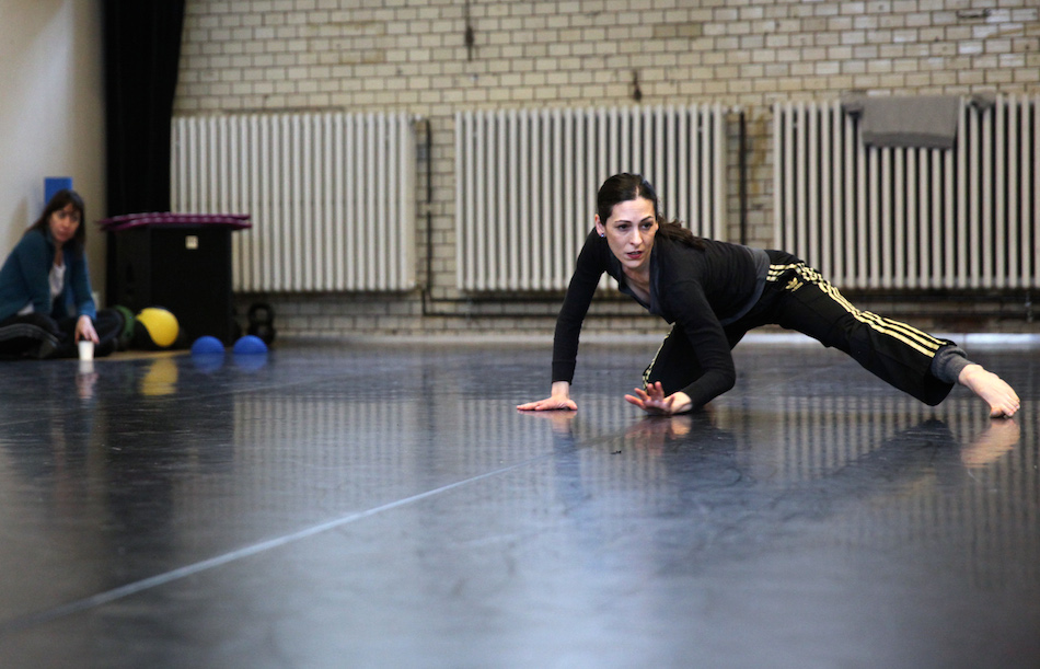 Ami in der Probe, 7 DIALOGUES, Premiere 28 Januar 2016 / credit: Dorothea Tuch