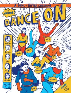 Cover 'Das Buch zur Dance On 1. Edition'